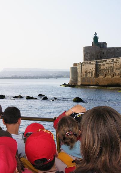 escursioni in barca a siracusa - turismo scolastico